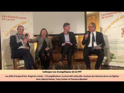 Colloque Les évangéliques de la FPF (Live 4) - Table ronde