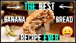 Banana Bread Recipe | Easy, Yummy And Vegan!
