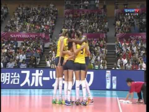 Brasil x Coréia - Copa do Mundo de Vôlei 2011 from YouTube · Duration:  1 hour 44 minutes 34 seconds