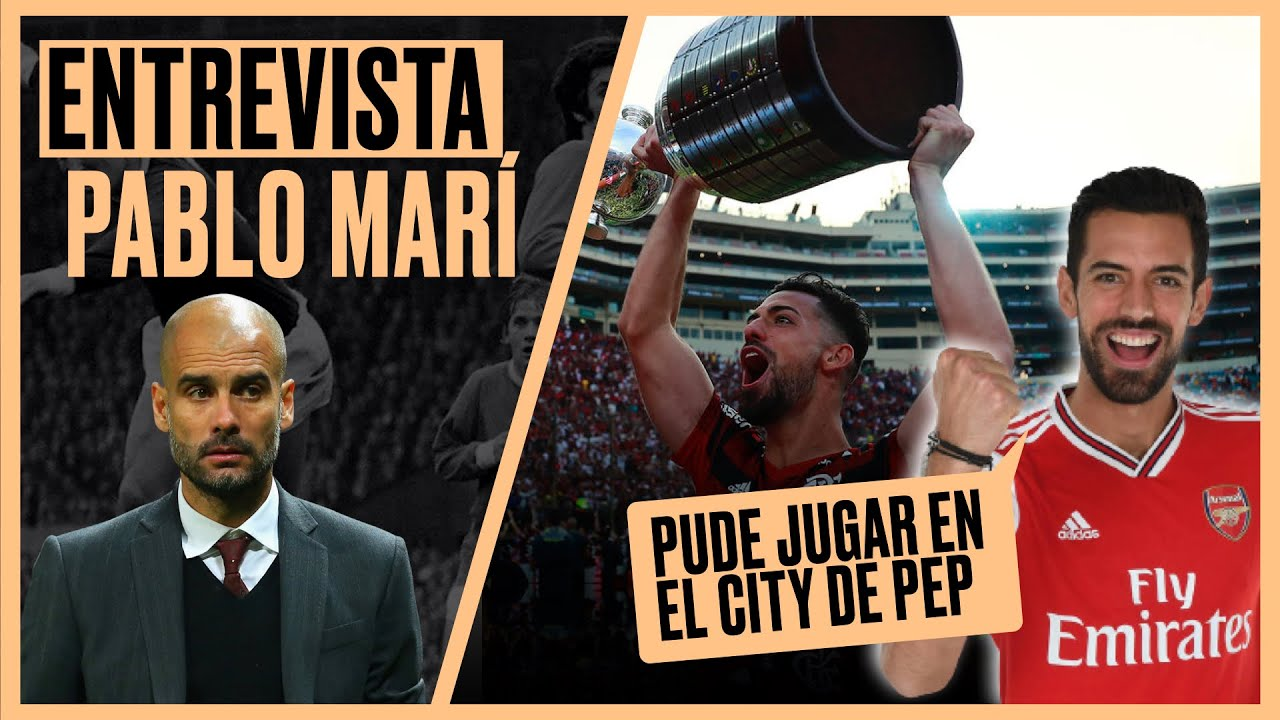 """PABLO MARÍ: """"Tengo la ESPINA clavada de NO HABER JUGADO en el CITY de GUARDIOLA"""""""