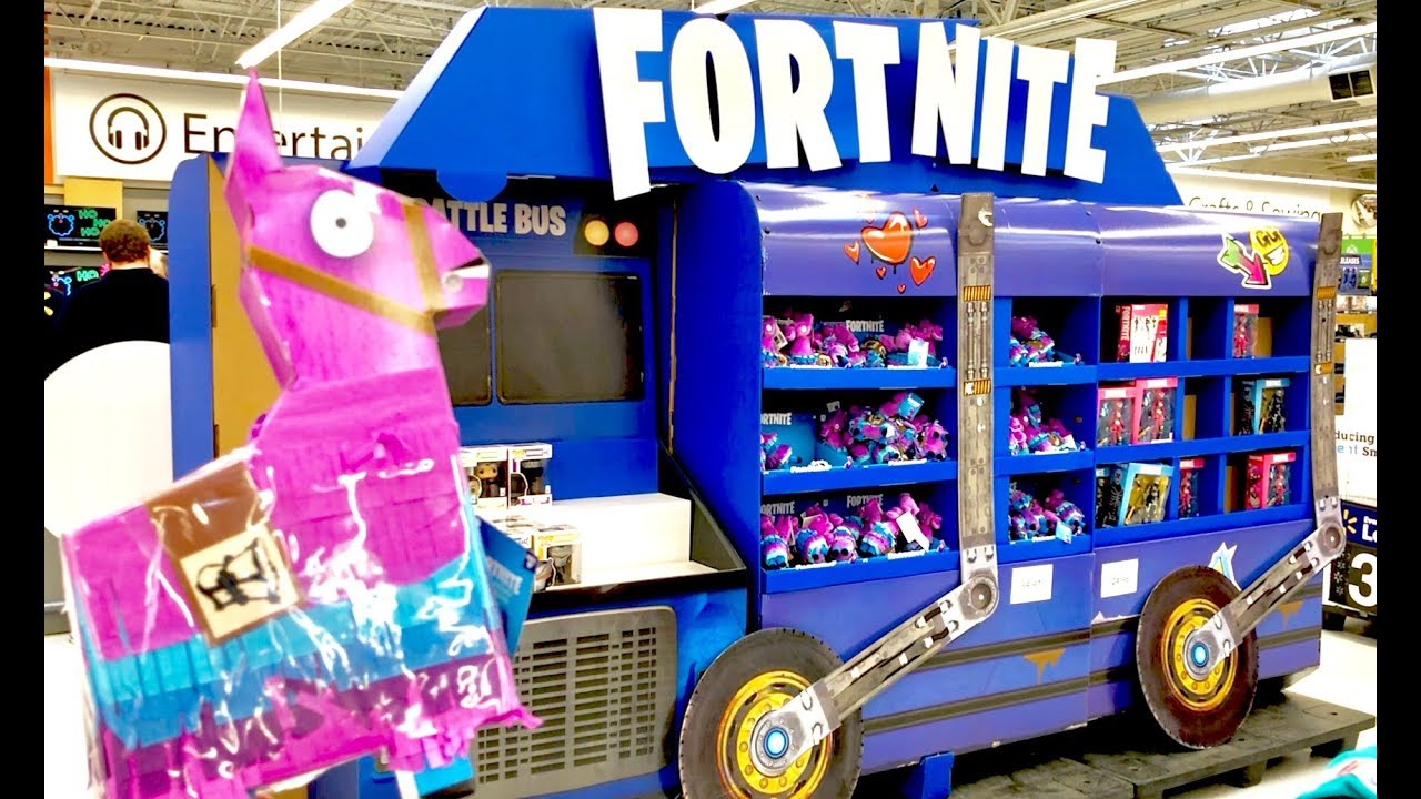 Fortnite Toys Hunt Walmart Ruins Fortnite Bus You Only Had One