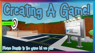 Creating A Roblox Game! (Come Join!) | #RoadTo2K