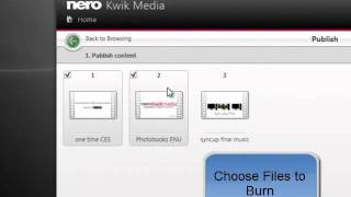 Nero Kwik Media Burn Video DVD Tutorial(How to Create a Video DVD with Nero Kwik Media . Kwik Media is built on the world famous Nero Burning Technology. For more information, please visit ..., 2012-02-06T23:12:19.000Z)