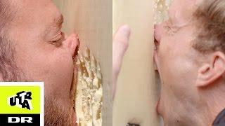 Spis igennem en væg af ost challenge | Hjalte vs. Tjelle | Ultra