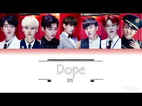 BTS - Dope (쩔어) | Sub (Han - Rom - English) Color Coded Lyrics
