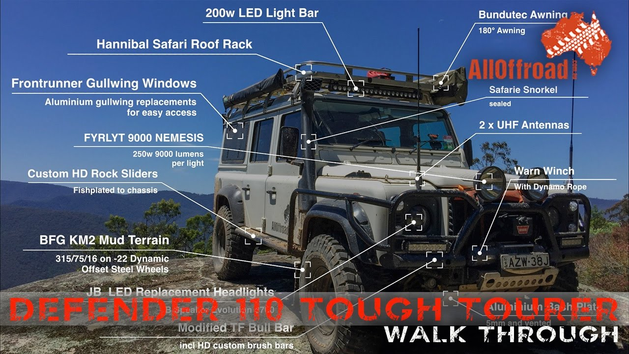 Land Rover Defender 110 4wd The Ultimate Overlander
