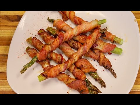 Bacon Wrapped Asparagus In The Big Boss Air Fryer