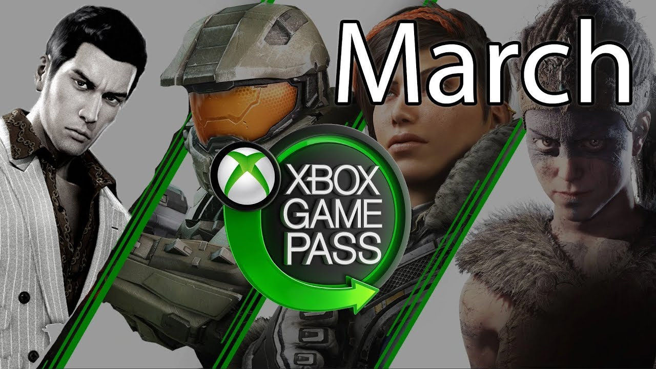 Xbox Game Pass March 2020 Games Suggestions and Additions