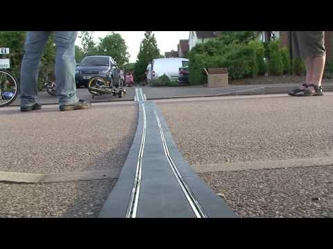 Brooklands Scalextric World Record