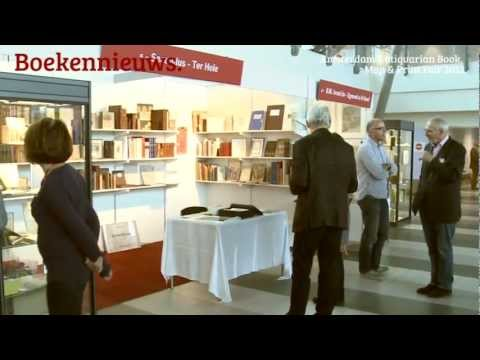Boekennieuws - Amsterdam Antiquarian Book, Map & Print Fair 2012