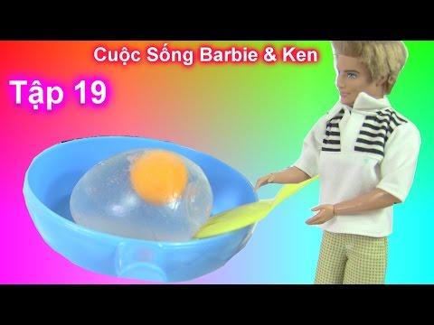 Phim Cuộc Sống Barbie & Ken [mùa 2] Tập 19 - Barbie Ken Đi Chợ Về / Ken Nấu Trứng Slime