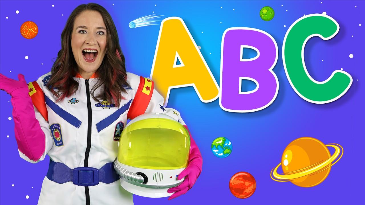 Alphabet Space - ABC Songs for Kids - Learn the alphabet