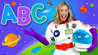 Alphabet Space - ABC Songs for Kids - Learn the alphabet