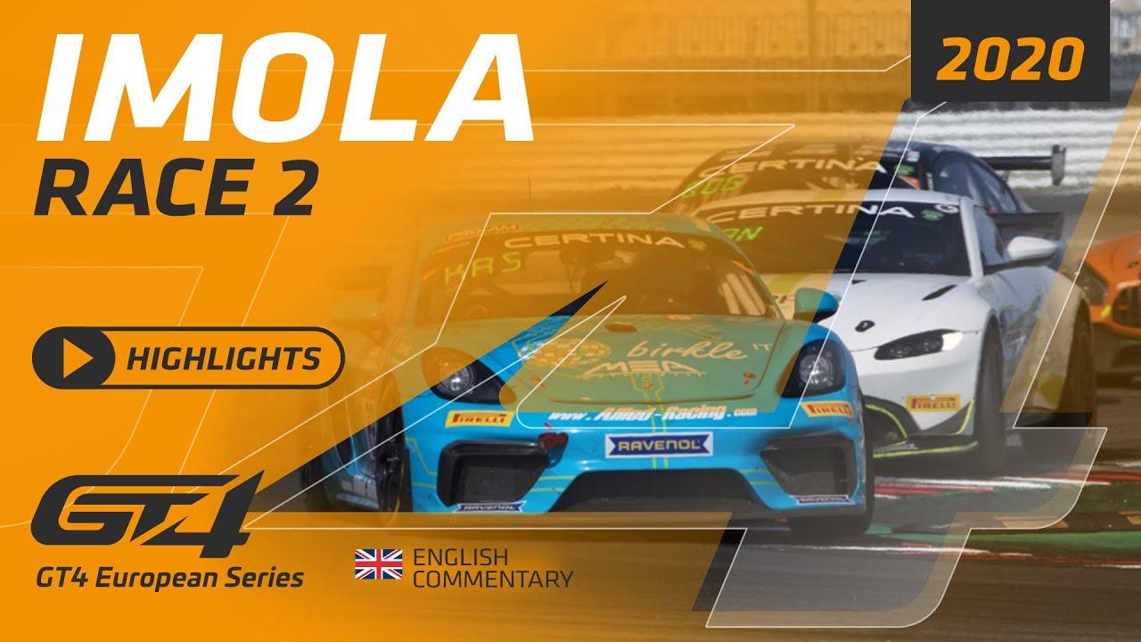Imola - GT4 Europe - RACE 2 - TV Highlights - Motor Informed