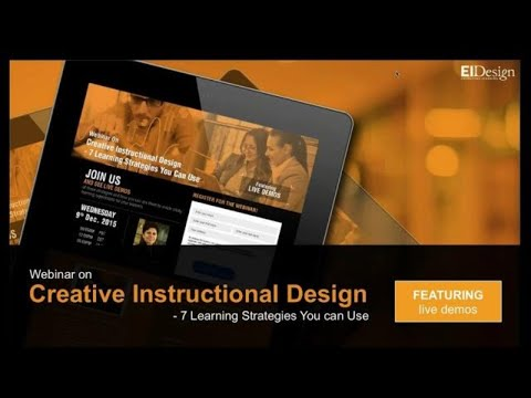 Creative Instructional Design Featuring 7 Learning Strategie