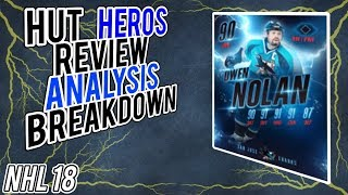 NHL 18 HUT | Heroes Review, Analysis, Ranking, and Breakdown