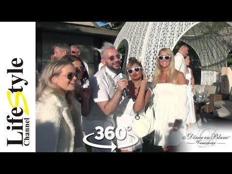 Diner en Blanc 360° interview on...