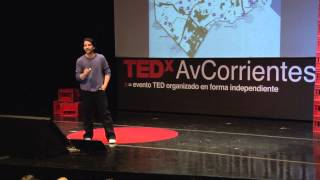 El tango me atravesó: Marcos Besada Romero at TEDxAvCorrientes 2013