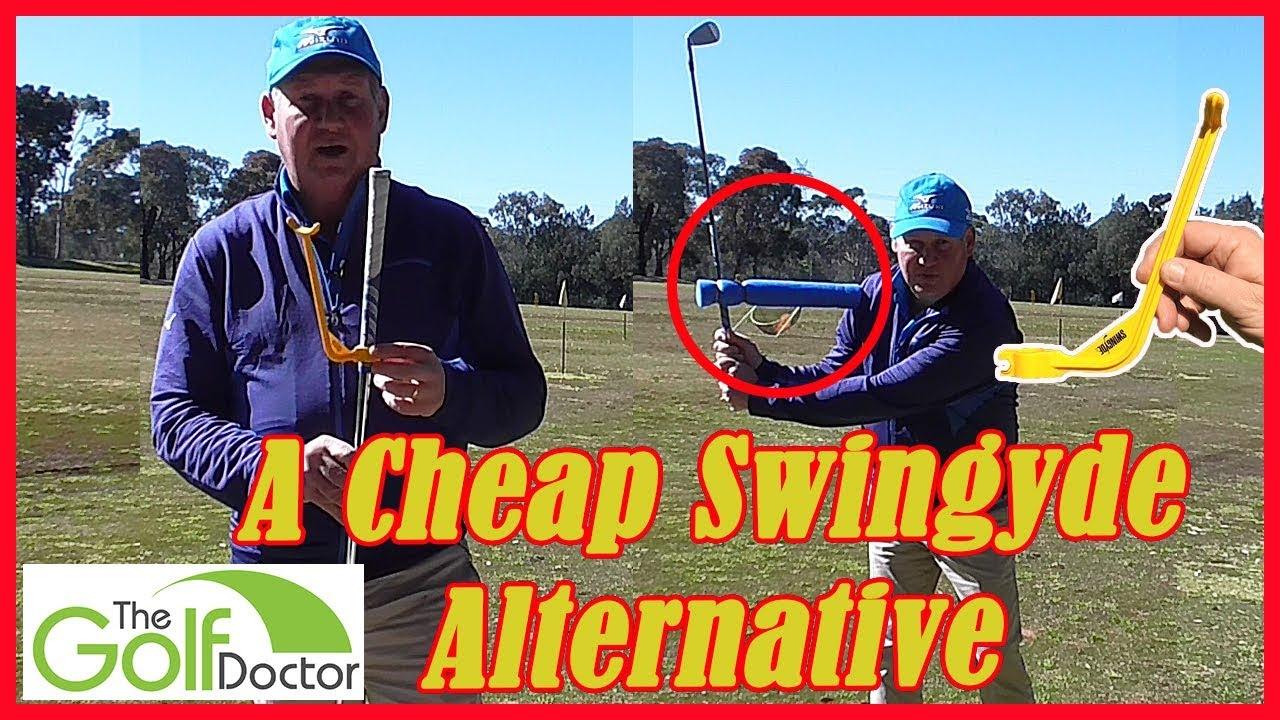A Cheap Alternative To The Swingyde Golf Training Aid