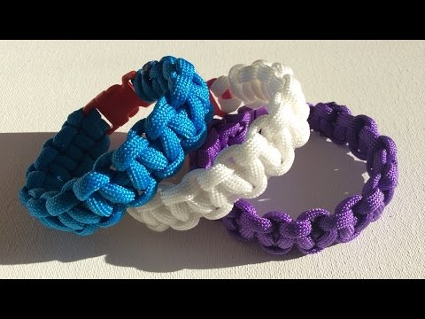 Super Paracord Nederlands; Cobra armband, rustige uitleg, easy - YouTube &XR39