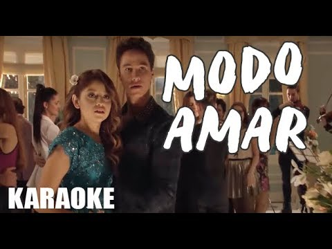 MODO AMAR SOY LUNA 3  - KARAOKE