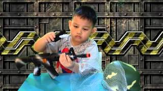 Heavy Machine Gun Metal slug Toys Kids Play
