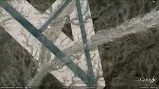 Google Earth HD 2011 - Places and the UFO disclosure (1/9)