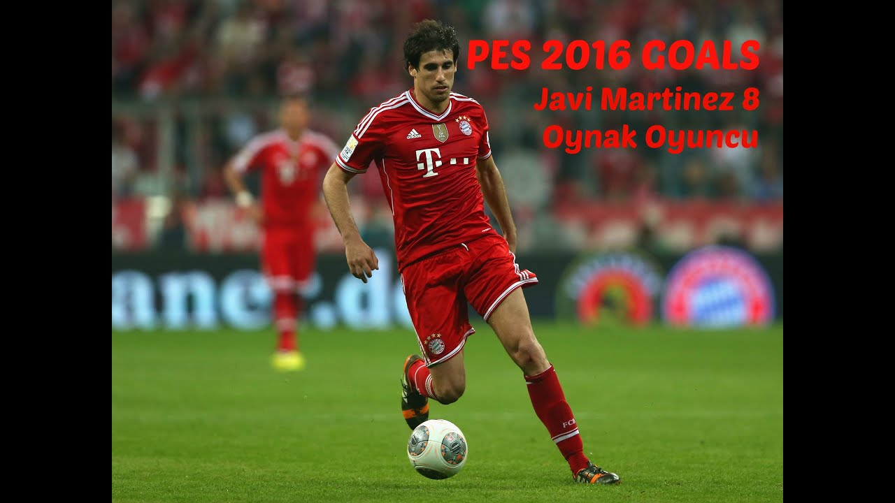 Javi Martinez PES 2016 line Gol