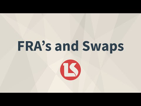 CFA Level 1 2015 FRA's and Swaps