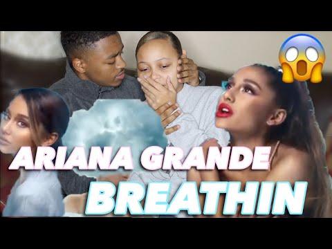 ARIANA GRANDE- BREATHIN MUSIC VIDEO REACTION Mp3