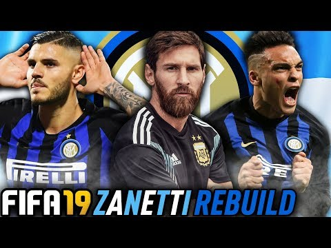 THE INTER MILAN ARGENTINA REBUILD CHALLENGE!!! FIFA 19 Career Mode