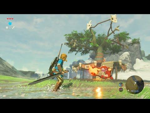 The Legend of Zelda: Breath of the Wild (Nintendo Switch) MESSIN' AROUND STREAM!
