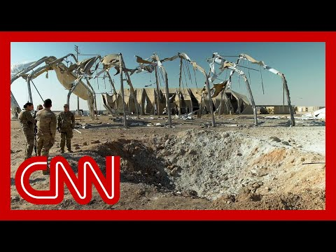 See how US troops survived Iran missile attack