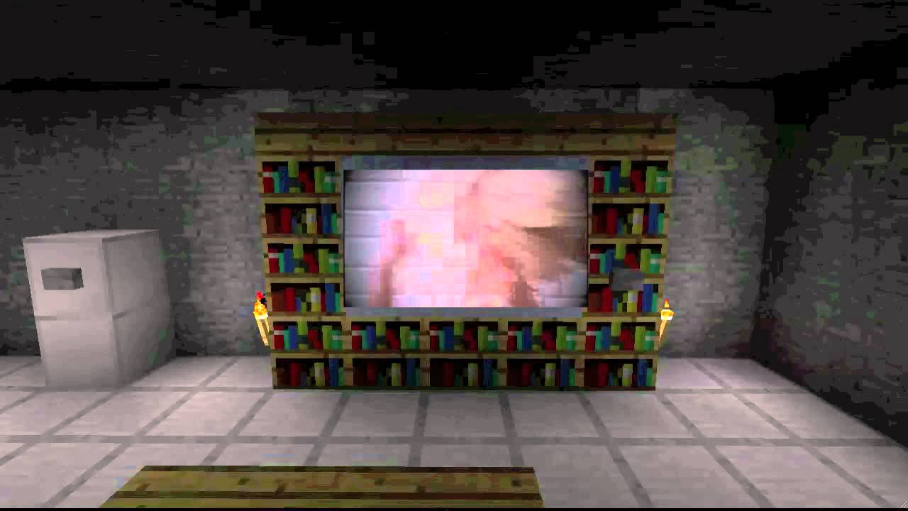 how to make working tv minecraft youtube. Black Bedroom Furniture Sets. Home Design Ideas