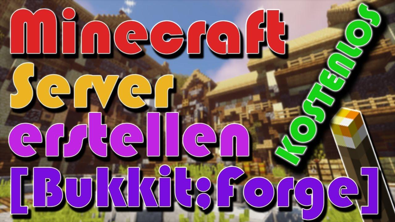 Minecraft Server Kostenlos Erstellen Tutorial Schnell Einfach - Minecraft server erstellen ganz einfach