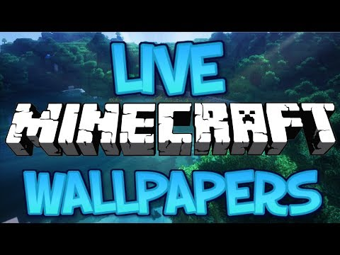 How To Get A Live Minecraft Wallpaper Windows 7 8 8 1 10 2018 Hd Youtube
