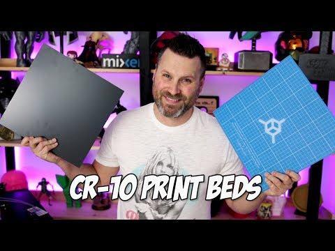 CR-10 Print Bed Options | CR-10 3D Printer