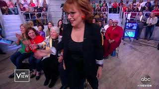 Joy Behar Gets Selfie With Audience Members | The View