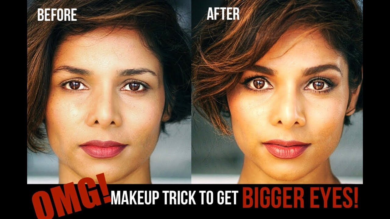 Makeup Trick To Make Eyes Look Bigger 2018 Eye Makeup Tutorial For