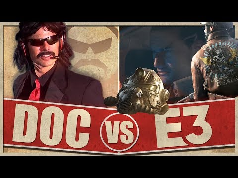 DrDisRespect reacts to E3 | E3 Highlights | Part One