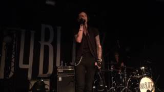 Andy Black Live Cover Billy Idol - Dancing with Myself 10th May 2016