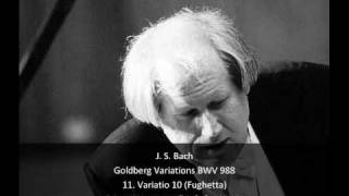 J. S. Bach - Goldberg Variations BWV 988 - 11. Variatio 10, Fughetta (11/32)