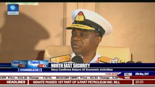 Nigerian Navy Says Operations In The N/East Have Boosted Safety