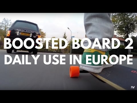 Boosted Board 2 Review Daily Use in Europe (Nederland)