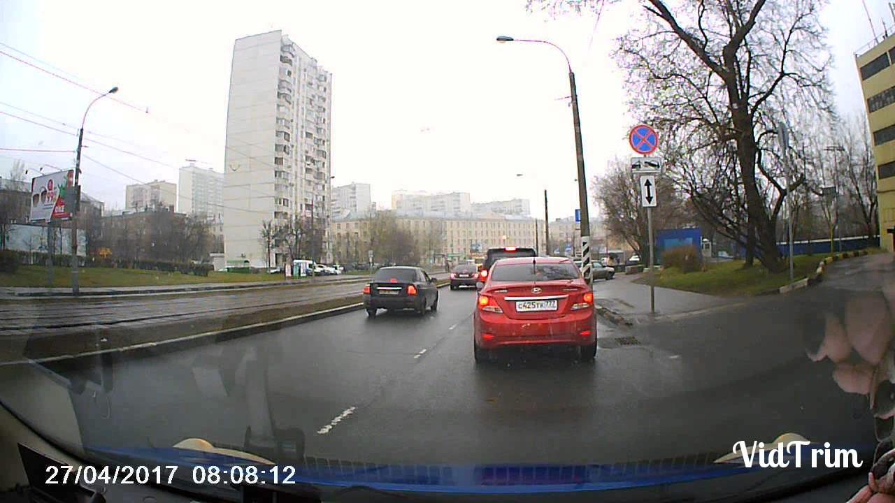 ДТП разборка на дороге.