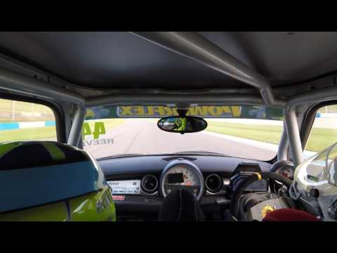 Mini Cooper S at Donington with Charlie Butler-Henderson