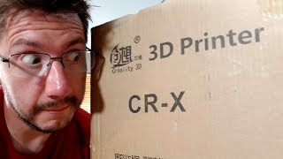 Creality CR-X Unboxing & Setup! Will You Be 3D Printing With This New Printer? (Was Live)