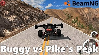 BeamNG Drive: Supercharged + Nitrous Buggy vs Pike's Peak!