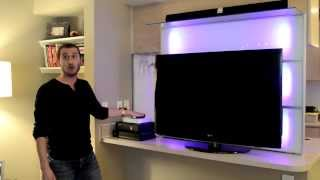 Living In Under 500 Sq. Ft.- Entertainment Center Alternative | Make The Most Of Your Space