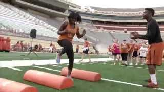 2015 Charlie Strong Women's Football Clinic [March 18, 2015]